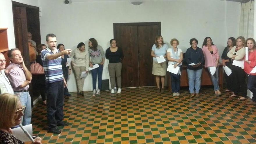 El Coro de La Bajada, dirigido por Fernando Felipe Martel,  ha comenzado los ensayos.