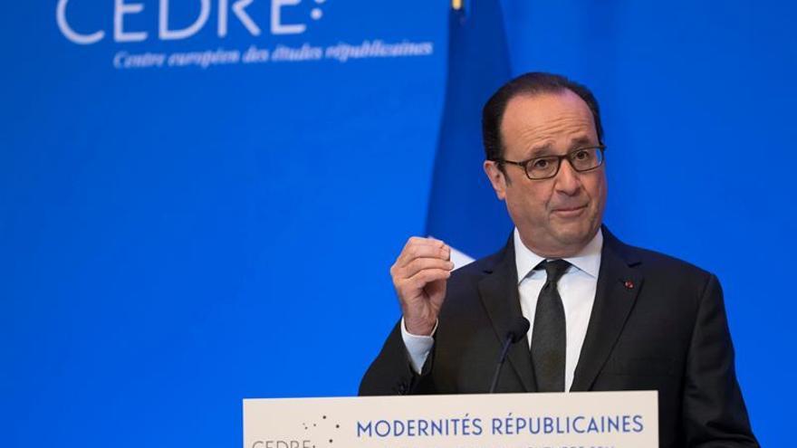 Hollande: Castro encarnó el orgullo del rechazo de la dominación exterior