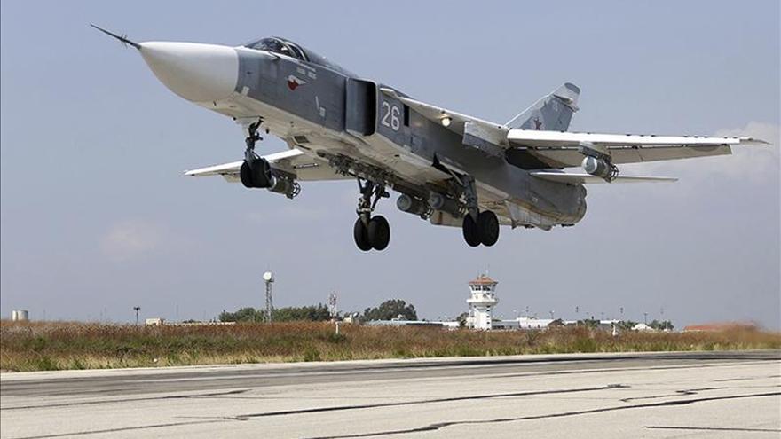 """EE.UU.: El incidente aéreo entre Rusia y Turquía sucedió """"sobre la frontera"""""""