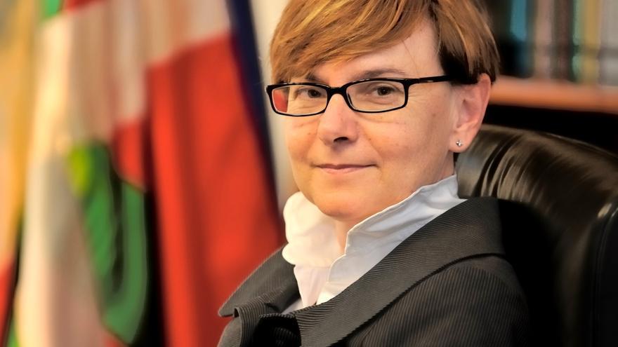 Gemma Zabaleta, en su etapa de consejera del Gobierno vasco. Foto: Irekia