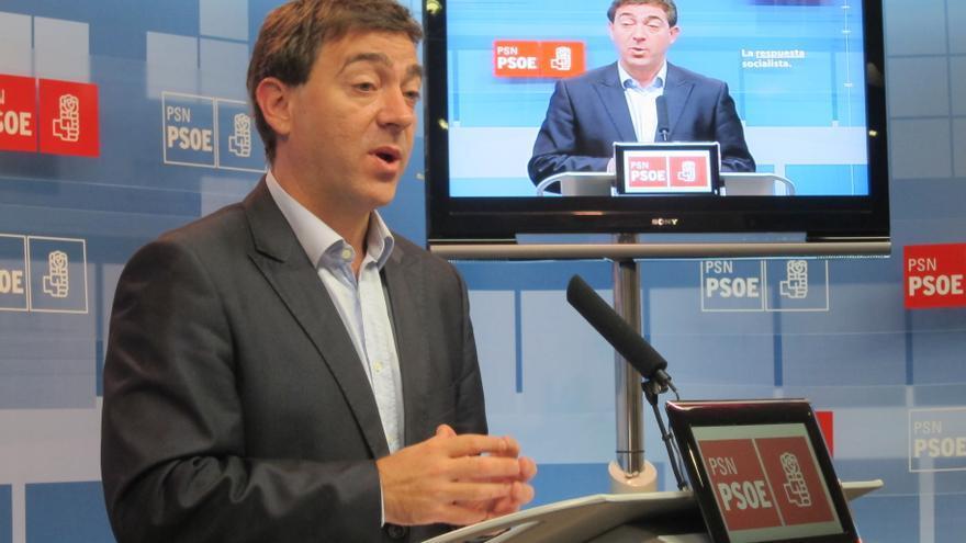 """Jiménez (PSN) dice que el proyecto de PSOE debe """"adaptarse"""" y reconoce que """"la proximidad"""" del candidato """"condiciona"""""""