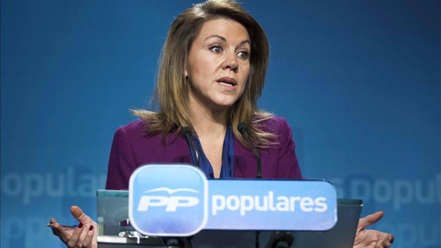 Cospedal presenta una demanda civil contra Bárcenas y El País