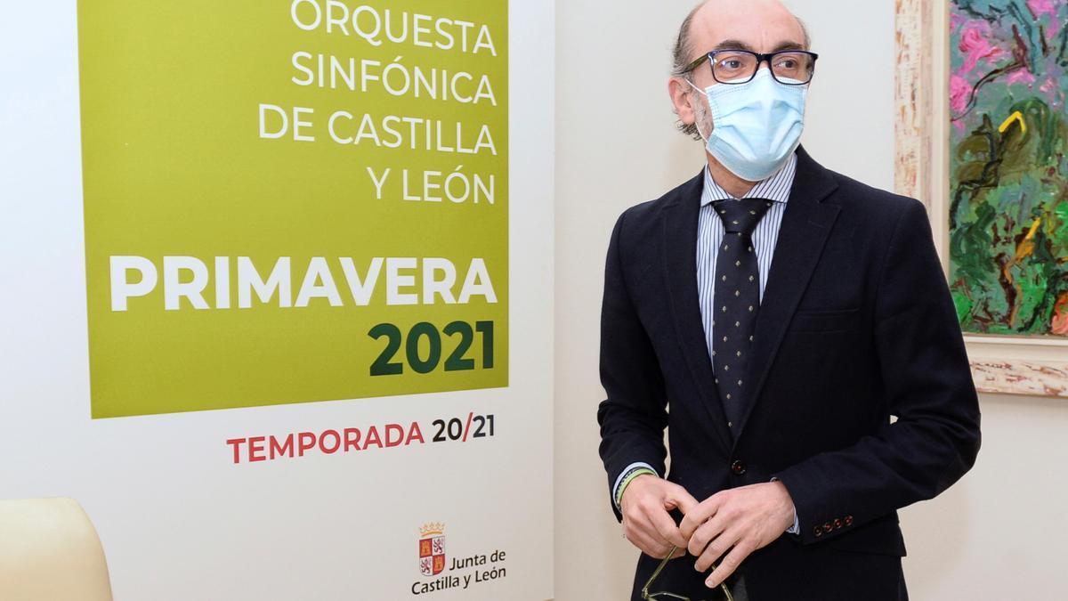 El consejero de Cultura y Turismo, Javier Ortega. EFE/ Nacho Gallego/Archivo