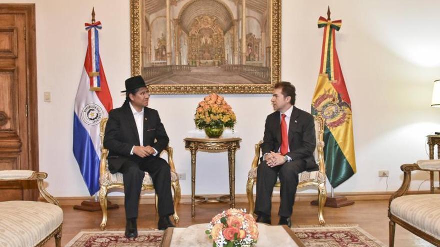 Cancilleres de Paraguay y Bolivia se reúnen para tratar integración económica