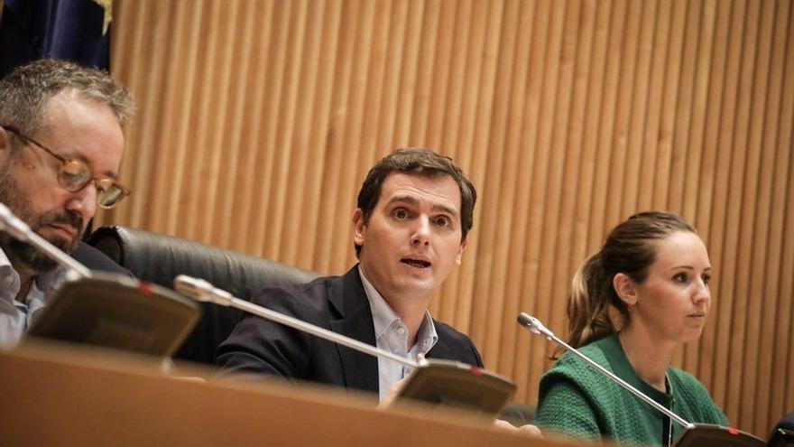 """Rivera celebra que Guindos ocupe la Vicepresidencia del BCE porque así España """"tendrá voz"""" en este organismo."""