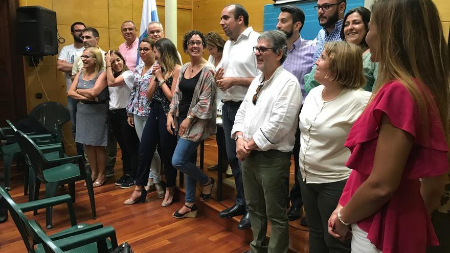 Comité local de CC Las Palmas de Gran Canaria, elegido en junio de 2017.