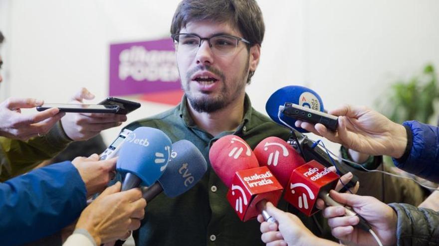 Podemos Euskadi pide a Sánchez esfuerzos para un gobierno de coalición