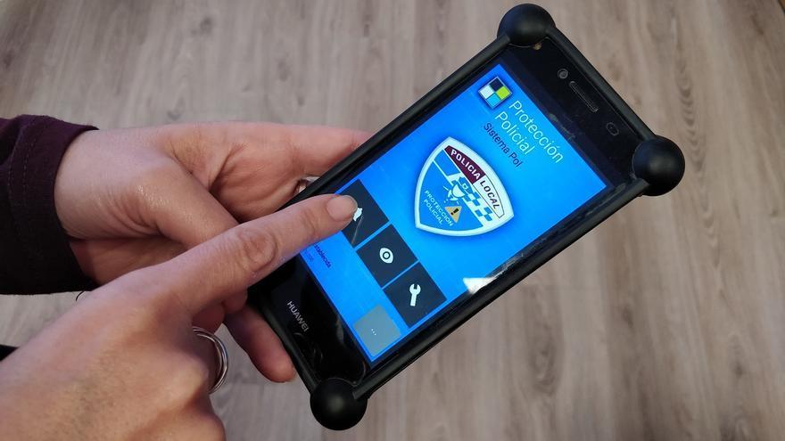 Aplicación de apoyo a las víctimas de violencia machista Manzanares