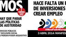 """Los sindicatos marchan en todas las capitales andaluzas """"por un nuevo rumbo para Europa"""""""