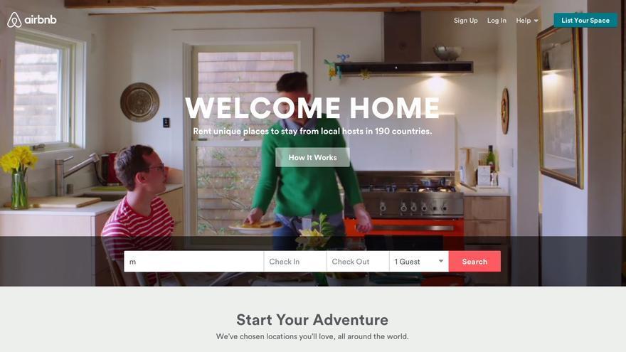 Airbnb presenta una demanda contra la ciudad de San Francisco, donde está su sede.
