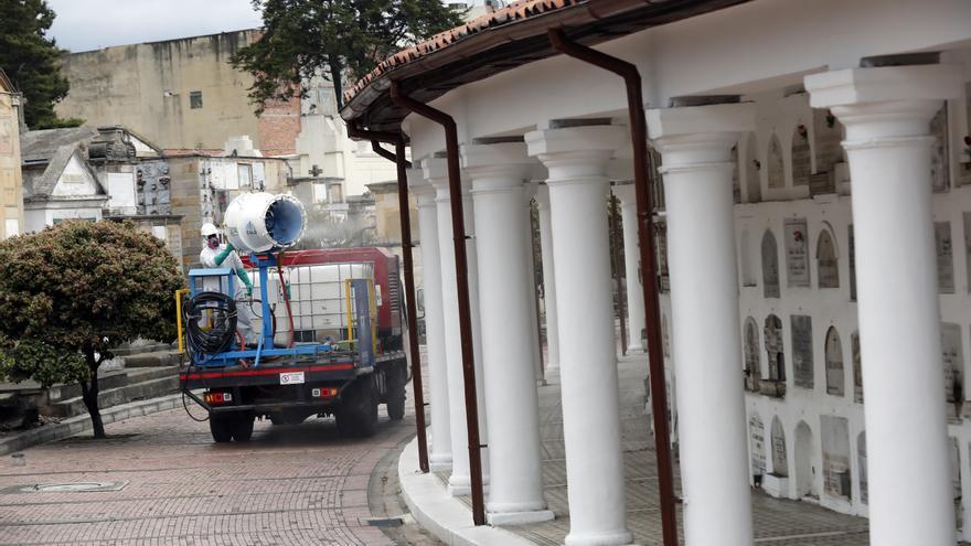 Las cenizas de víctimas de covid-19, fuente de vida de un páramo en Colombia