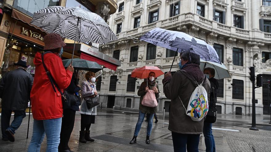 La semana arranca con un frente atlántico que dejará lluvias generalizadas