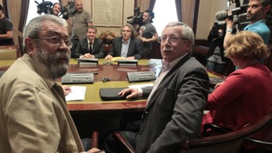 Toxo Y Méndez En El Congreso