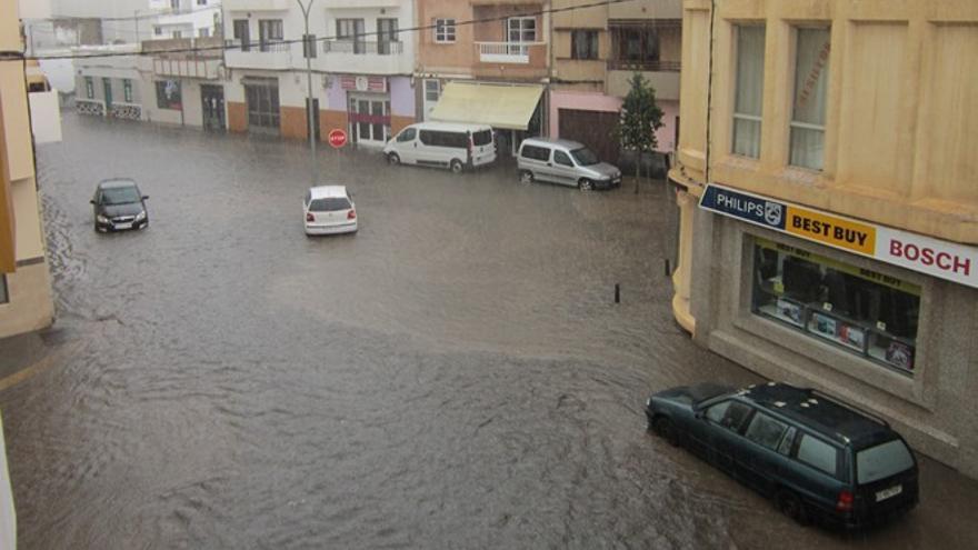 Lluvia en Arrecife en la jornada de este jueves | Diario de Lanzarote.