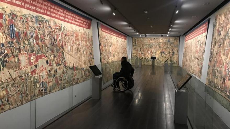 Museo de los tapices de Pastrana FOTO: www.clmturismoaccesible.com