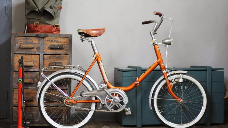 Lo creas o no, esta es una bici plegable restaurada por Dale pedales