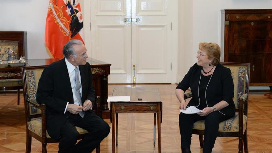 La presidenta Bachelet recibe a directivos de Gas Natural Fenosa
