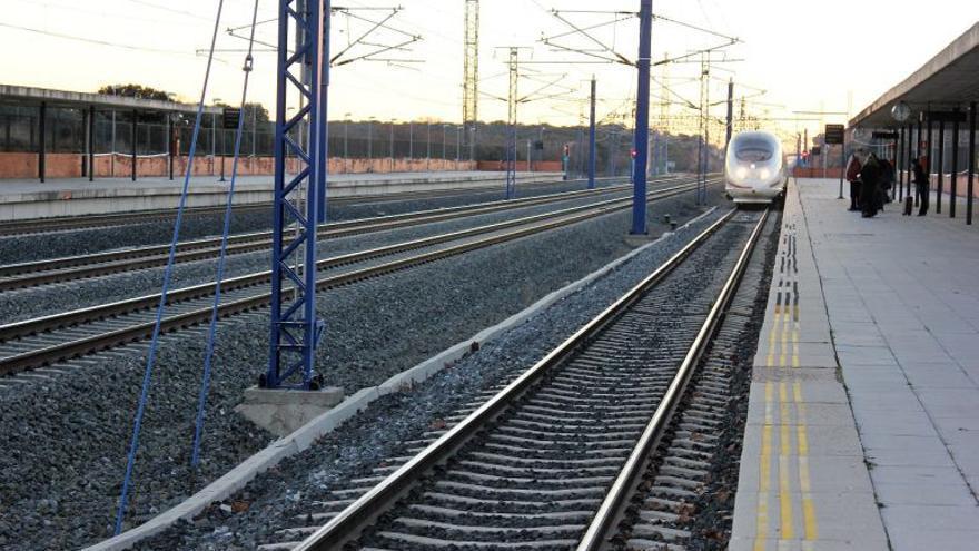 Estación AVE Guadalajara Yebes FOTO: Ayuntamiento de Yebes