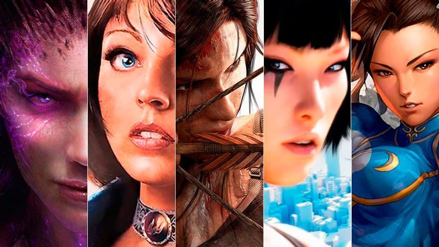 Los Mejores Personajes Femeninos De Los Videojuegos