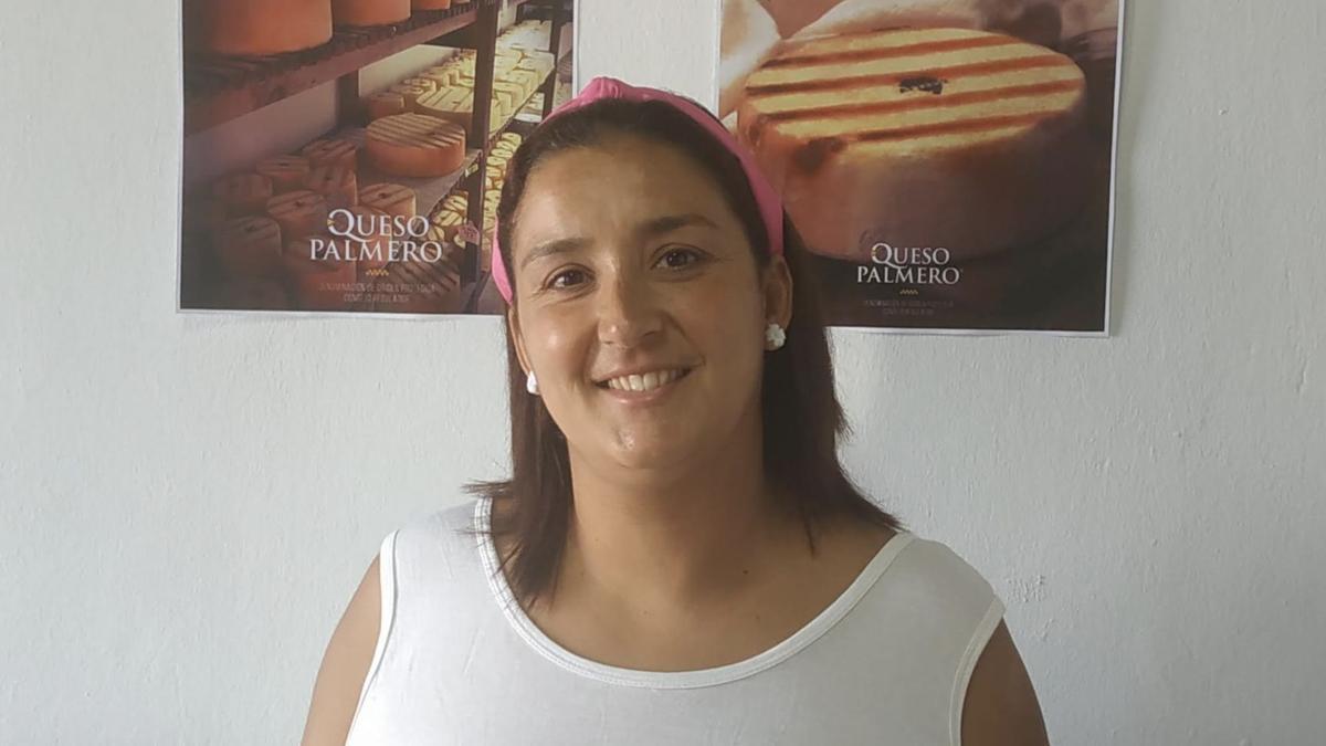 Saray Domínguez, presidenta  delConsejo Regulador de la Denominación de Origen Protegida (CRDOP) Queso Palmero.