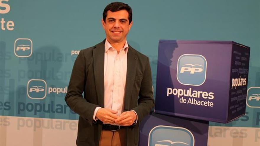 Javier Cuenca, alcalde de Albacete / Foto: Europa Press