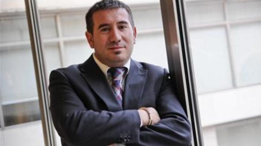 Luís Ángel Mateo, exconcejal de Empresa y Empleo en Elche con el PP.