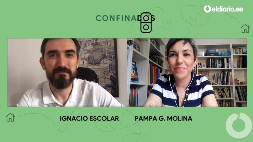 Ignacio Escolar entrevista a Pampa G. Molina, redactora jefa de la agencia de noticias científicas SINC.
