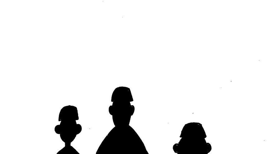 Los magistrados del juicio de 'La Manada'