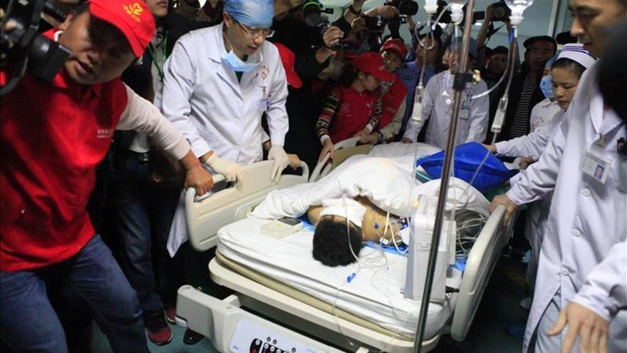 Aumentan a doce los muertos en el alud sobre un parque industrial de Shenzhen