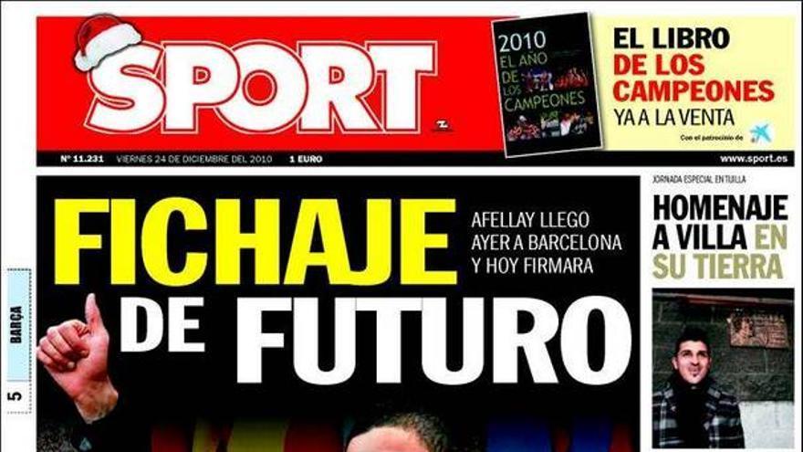 De las portadas del día (24/12/2010) #14