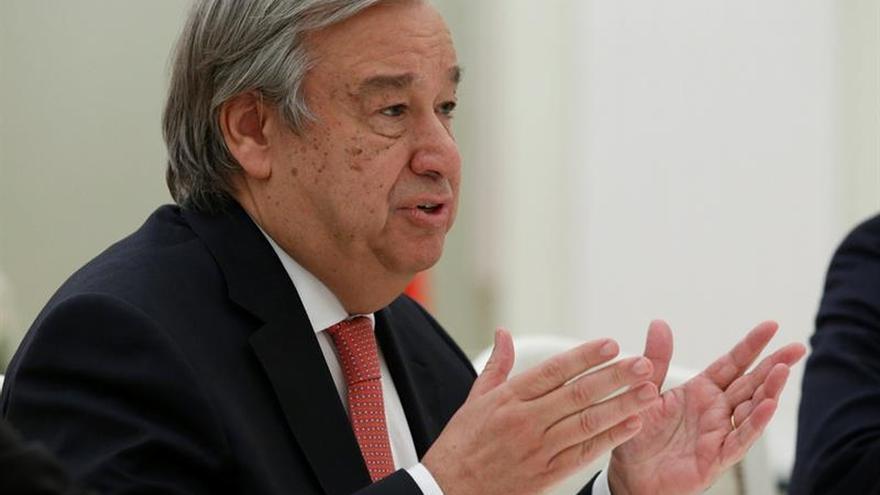 Putin defiende ante Guterres el papel central de la ONU en el arreglo de conflictos