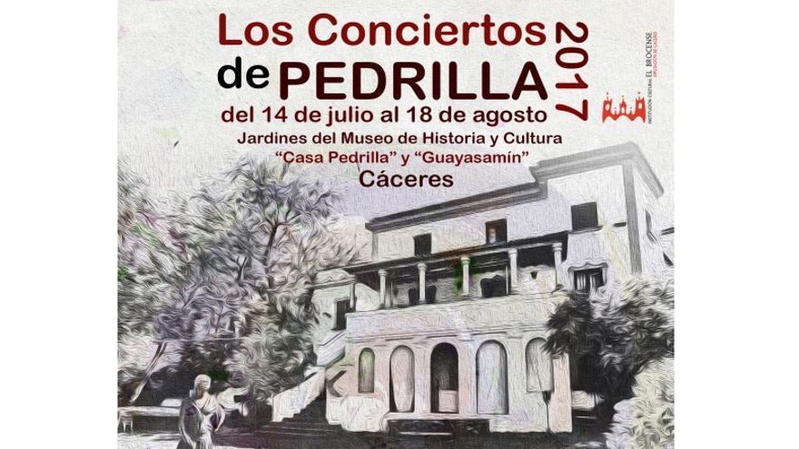 Conciertos del Museo Pedrilla / www.dip-caceres.es
