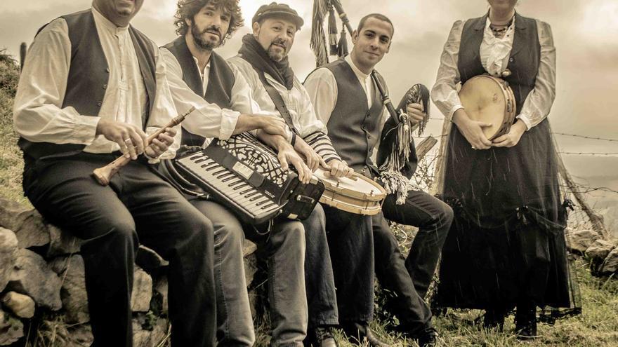La banda de música folk Landeral será una de las que participen en el Festival Magosta.