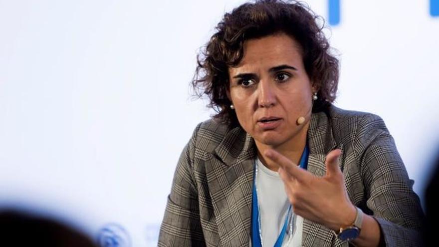 La ministra de Servicios Sociales, Dolors Montserrat, es la responsable estatal del sistema de atención a la dependencia