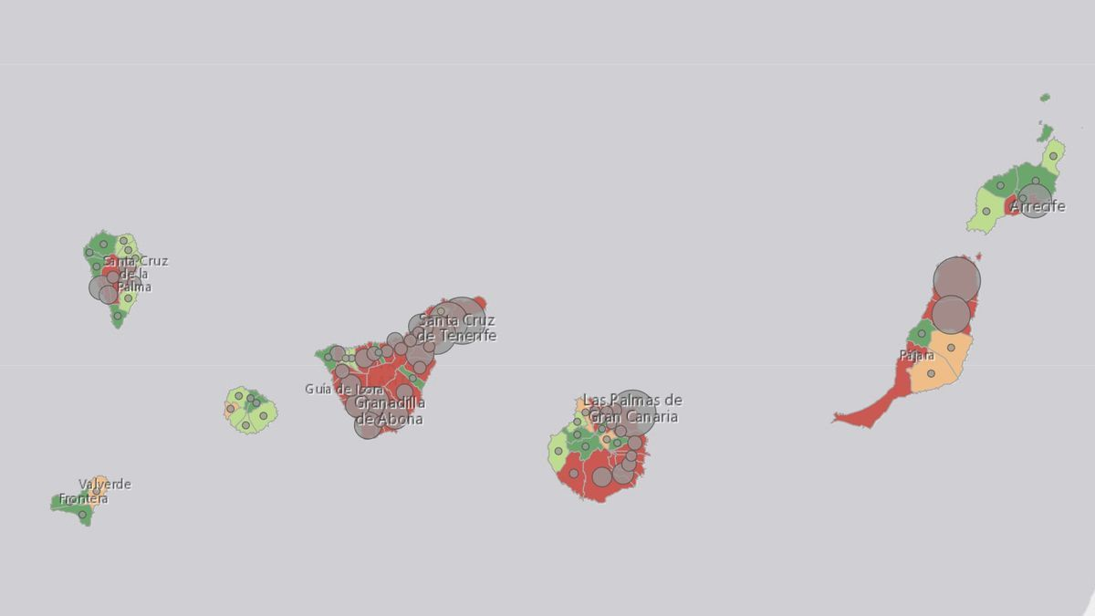Ambas provincias del Archipiélago tienen una incidencia con tendencia al alza