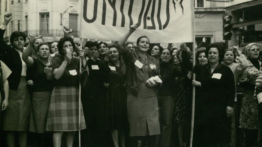 ccoo 1977 manif mujeres Santana.jpg