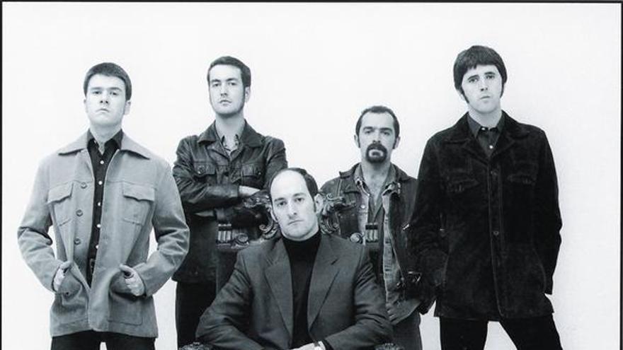 El grupo The Allnighters, en una imagen promocional.