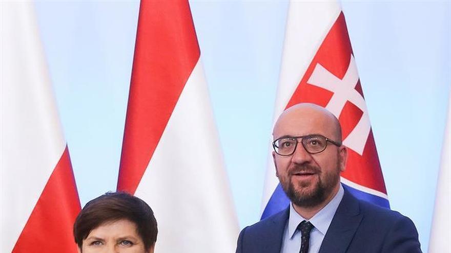"La primera ministra polaca critica la ""política migratoria irresponsable"""