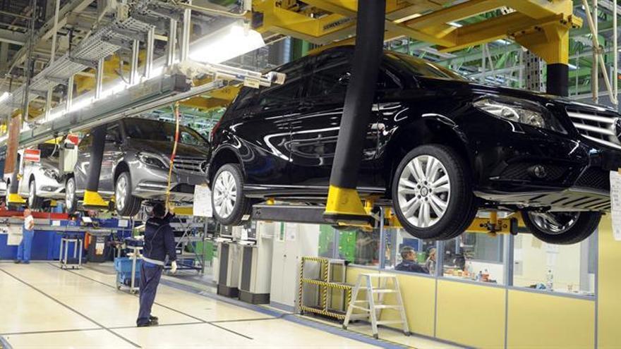 La producción industrial alemana subió un 0,3 por ciento en octubre