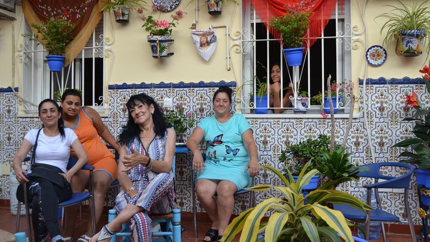 Vecinas del corralón de calle Jara, 6   N.C.