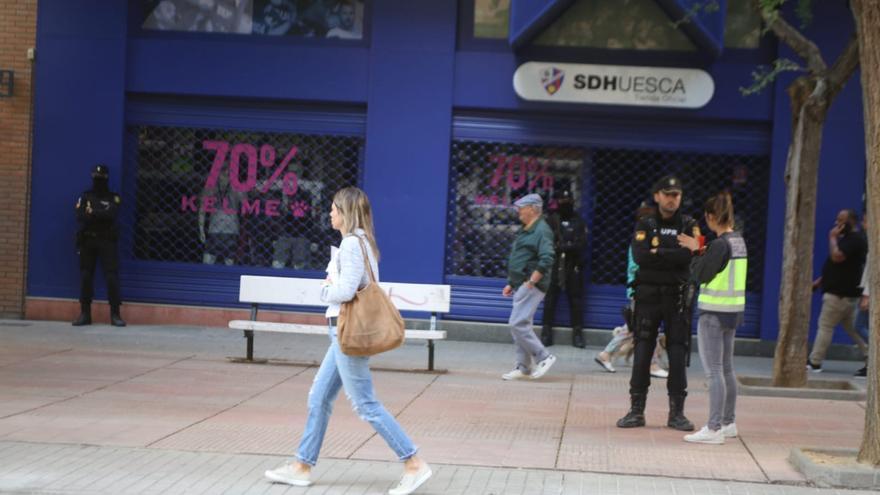 Sede de la Sociedad Deportiva Huesca
