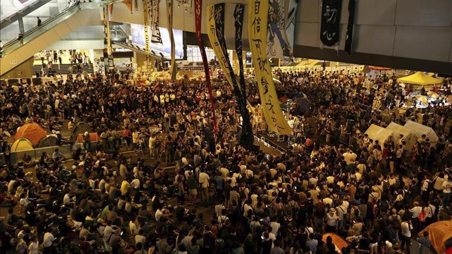 Hong Kong paralizará la reforma política si no se aprueba el plan de China