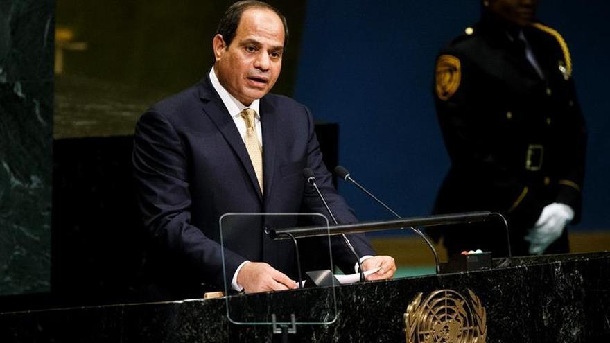 Al Sisi pide no abordar los asunto de derechos humanos en Egipto con un enfoque occidental