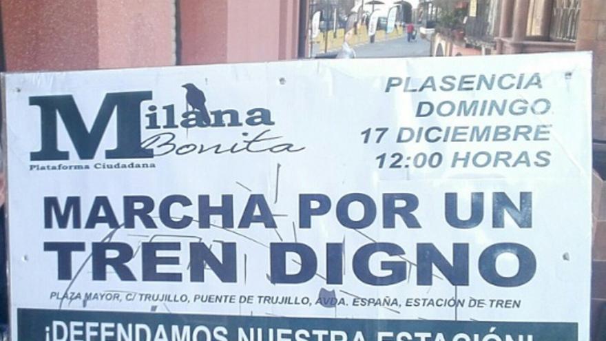 Acto de 'Milana Bonita' por las calles de Plasencia / @bonita_milana