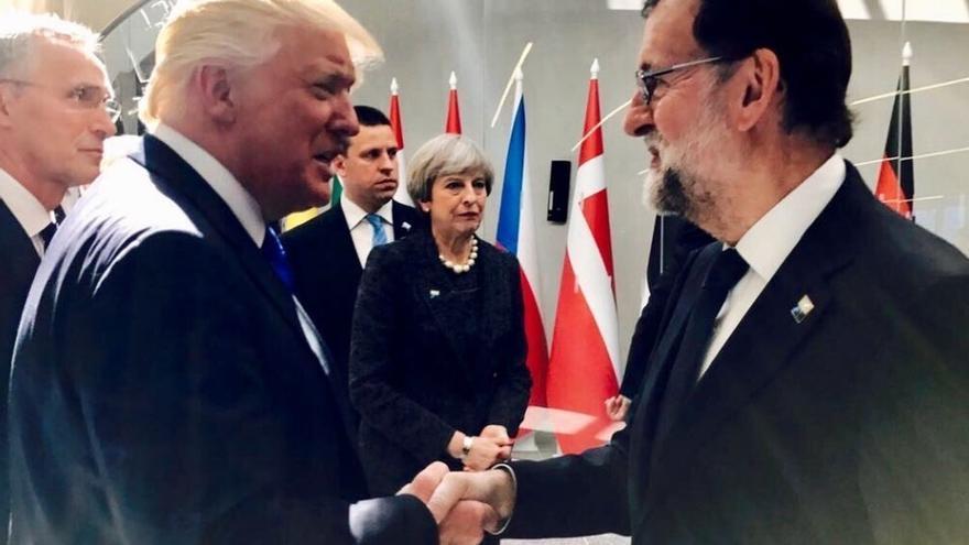 Rajoy se reúne el martes con Trump en la Casa Blanca y el viernes con los líderes europeos en Tallin