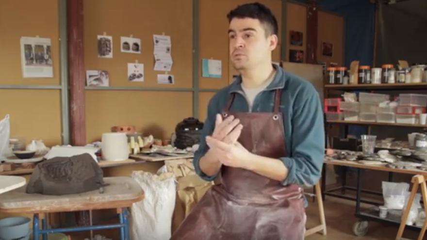 El escultor toledano Gregorio Peño / TiTi Records
