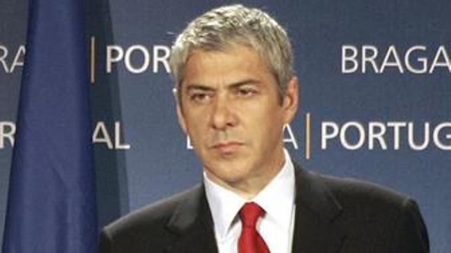 Jose socrates primer ministro luso serio