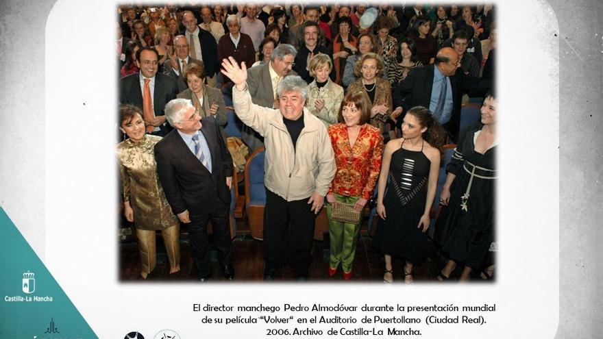 Presentación de 'Volver' en el auditorio de Puertollano