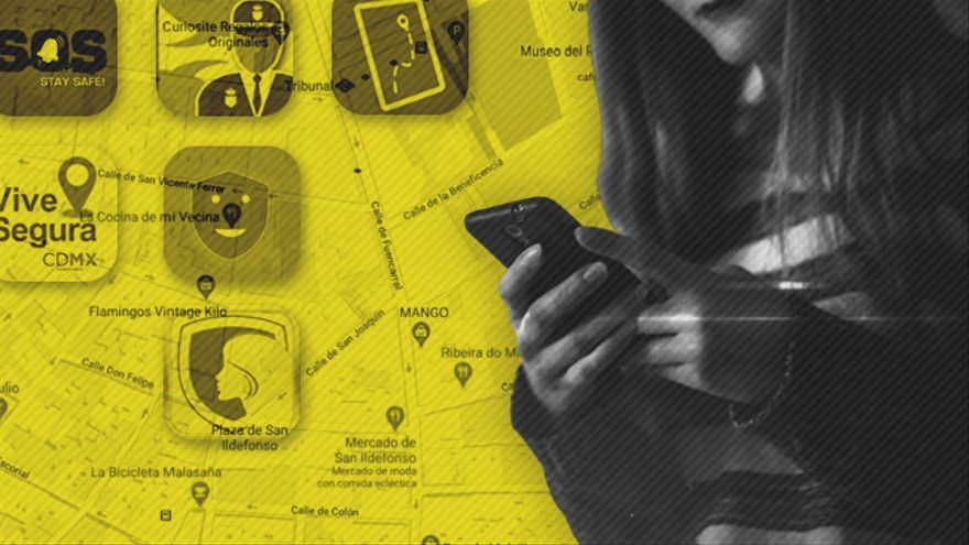 Las apps de geolocalización para mujeres son una herramienta contra la inseguridad en el espacio público