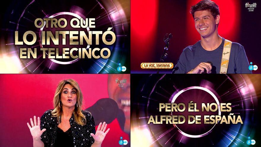 """Sálvame intenta ridiculizar a Alfred de OT: """"Cantaba peor que Chayo Mohedano"""""""